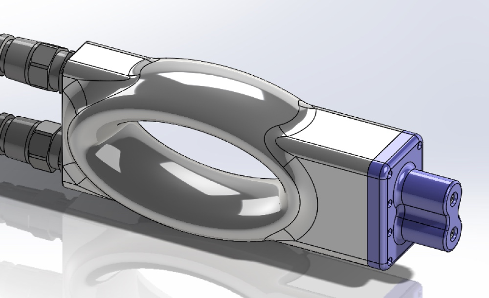 CAD Sonderstecker, Prototypen für die E-Mobility Spannung bis 1500V und 1200A, Agilista
