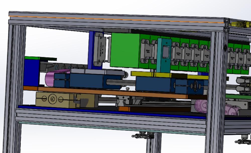 """Multiplexer für 19"""" Einbau für div. Signale für die E-Mobility Spannung bis 1500V und 1200A"""