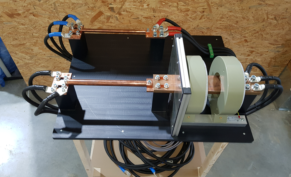 Prüfvorrichtung zum Prüfen von Stromwandler bis 1200 A